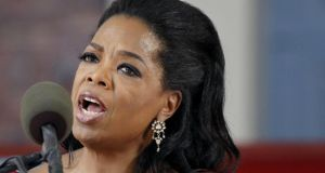 Oprah Winfrey  said she asked the sales assistant at the Trois Pommes store in Zurich to see a 35,000 Swiss franc (€28,500) crocodile handbag but was told that she would not be able to afford it. Photograph: AP Photo/Elise Amendola
