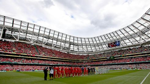 Liverpool and Celtic went head to head in the Dublin Decider friendly in Dublin over the weekend, with the  Scottish champions winning  1-0 in  a packed Aviva Stadium. Photo : Inpho / Ryan Byrne