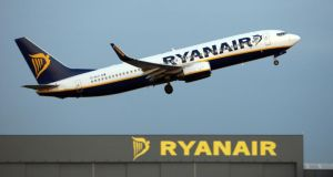Ryanair pilots have called on the Irish Aviation Authority (IAA) to investigate serious concerns they have about the airline's safety culture. Photograph: Chris Radburn/PA Wire