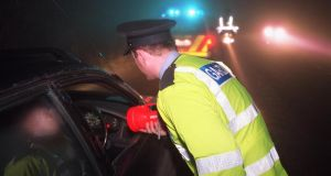 "Gardaí today warned motorists who break crucial rules on speeding, seat belt use and alcohol they ""have to be lucky all the time"", adding that the force was ""out there as much as ever"". Photograph: Frank Miller/The Irish Times"