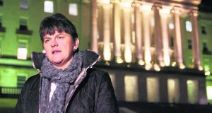 DUP Minister for Enterprise Arlene Foster:  said she had approached senior PSNI officers and  the Director of Public Prosecutions   over  Gerry Kelly's  comments