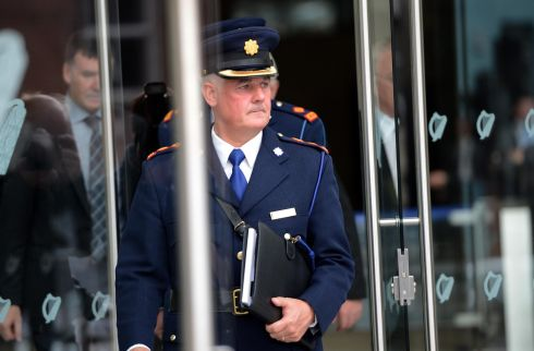 Chief Supt Dave Sheahan, leaving  the Special Criminal Court after John Dundon was sentenced to life in prison for the murder of rugby player Shane Geoghegan. Photograph: Eric Luke/The Irish Times