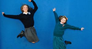 Lyn Crowley (left) of St Andrew's College and Lucy Rice of Loreto abbey, Dalkey. Photograph: Aidan Crawley