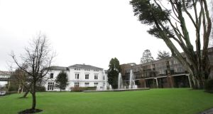 Plassey House and quadrangle at the University of Limerick