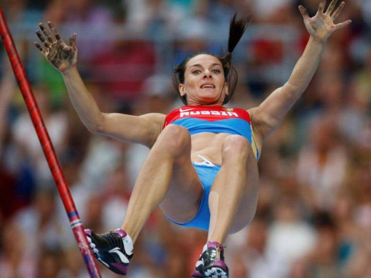 Elena Isinbayeva believes that nobody defended her right to speak in Rio 25.07.2016 41