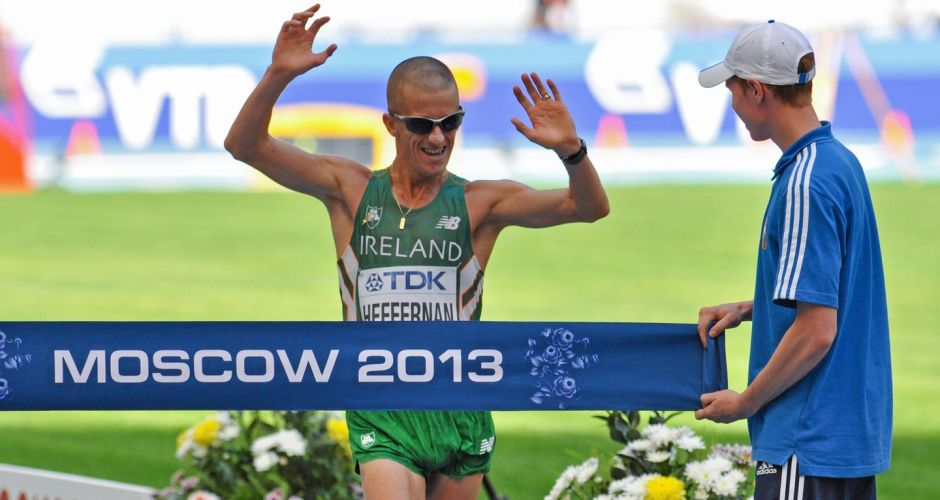 Heffernan wins gold in Moscow