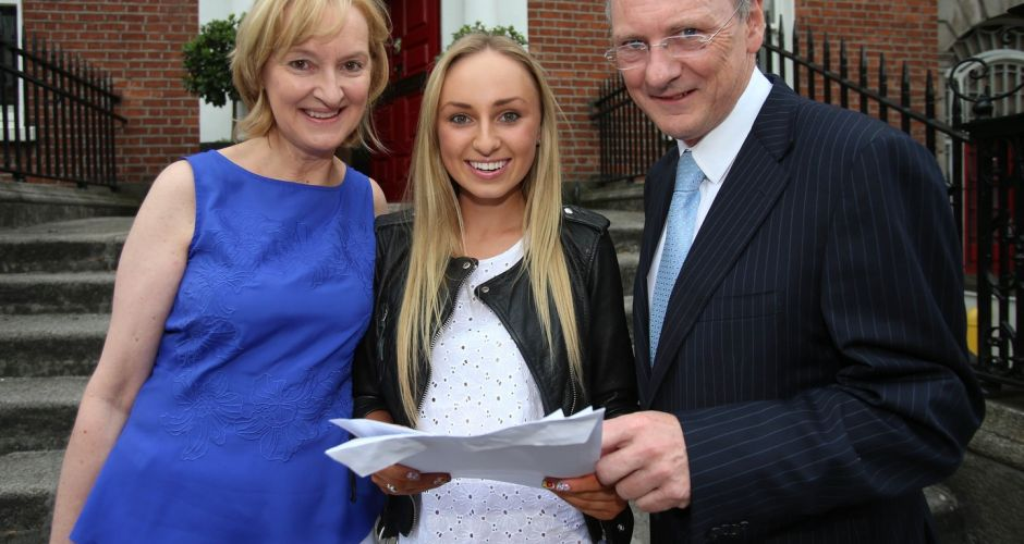 Leaving Cert students celebrate results