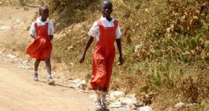 Rural Kenya, where uniforms have been proven to reduce absenteeism