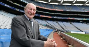 Joe Rock, who has worked in Croke Park for 81 years. Photograph: Dara Mac Dónaill
