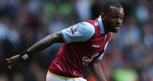 Aston Villa striker Darren Bent looks set to join Fulham on loan. Photograph: Nick Potts/PA Wire