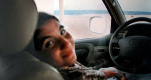 Telling the story: a photograph of Hana Muammar Gadafy that Mary Fitzgerald found in Bab al-Azizia in 2011