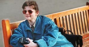 Telling the story: the blind photographer Audrey Tormey. Photograph: Matt Kavanagh