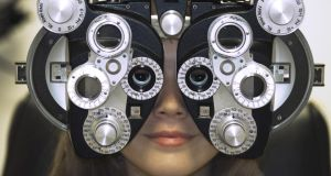 See here: eye exams can pick up on general health issues such as diabetes, MS or brain tumours. Photograph: Getty