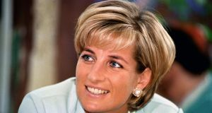 Undated file photo of Princess Dianna as the deaths of Princess Diana and Dodi Al Fayed are being looked at again by police after they received information. Photograp: John Stillwell/PA Wire