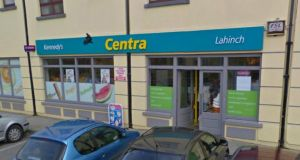 Kennedy's Centra Foodmarket in  Lahinch, Co Clare, which sold last night's winning ticket. Image: Google Maps