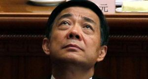 Bo Xilai is almost certain to be found guilty when he stands trial on charges of corruption. Photograph: AP