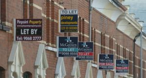 The Housing Rights Service believes that the level of home repossessions is much worse in Northern Ireland than in any other part of the UK. Photograph: Pacemaker