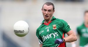 "Mayo's Keith Higgins: ""There was no major strategy other than to go out and play it as you see it, I suppose."""
