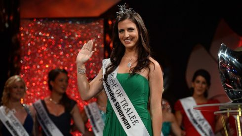 Texas Rose Haley O Sullivan, who won  the 2013 Rose of Tralee International Festival pageant . Over 2000 people from around the world packed the Dome in Tralee as Daithi O'Sé announced the winner. Photograph: Dominick Walsh/Eye Focus Ltd