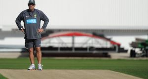 "Australia head coach Darren Lehmann has accused England's Stuart Broad of ""blatant cheating"" during the Ashes series. Photograph:   Steve Bardens/Getty Images"