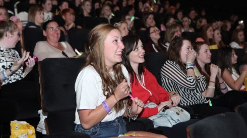 Emily Fleming from Dublin and other fans at the Dublin premiere of One Direction: This is Us at Cineworld,   Photograph: Bryan Brophy