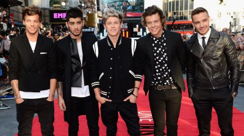 "Louis Tomlinson, Zayn Malik, Niall Horan, Harry Styles and Liam Payne attend the ""One Direction This Is Us"" world premiere at the Empire Leicester Square on August 20, 2013 in London, England.  Photograph: Ian Gavan/Getty Images"