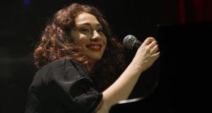 Regina Spektor (file photograph): has allowed her influences to fall away, replacing them with distinctive and individualistic themes