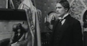 A still from the film Bruges-la-Morte (1915), based on the  Georges Rodenbach novel