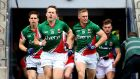 "Mayo's Andy Moran: There were rumours he suffered a setback to the cruciate injury but Mayo report that everyone who was available the last day ""is okay for this Sunday."""