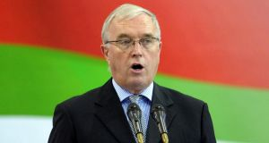 Pat McQuaid's bid for a third term as president of the International Cycling Union has suffered a further setback after Swiss Cycling confirmed it has withdrawn its nomination of him. Photograph: Tim Ireland/PA Wire