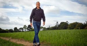 Actor Daniel Day-Lewis, patron of the Wicklow Hospice Foundation at the Magheramore site, Co Wicklow. Picture: Garry O'Neill