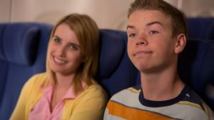 Emma Roberts and Will Poulter in We're the Millers
