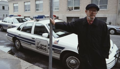 "2. ""Avoid prologues."" [Elmore Leonard in Detroit, Michigan, November 1992.] Photograph: Michael Brennan/Getty Images"