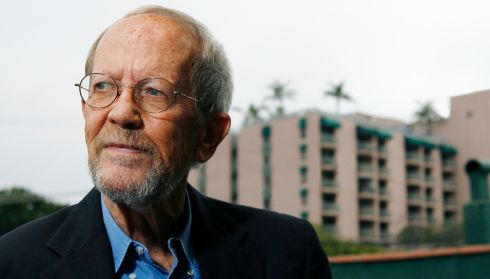 "6. ""Never use the words 'suddenly' or 'All hell broke loose'."" [Elmore Leonard in Los Angeles, California in May 2007.] Photograph by Vince Bucci/Getty Images"