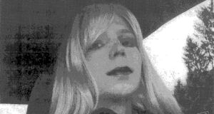 US soldier Bradley Manning  is pictured dressed as a woman in this 2010 photograph. In a statement read on NBC News Manning said he is female and wants to live as a woman named Chelsea. Photograph: US Army/Handout/Reuters