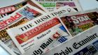 Sales of daily and Sundays newspapers  have declined in the first half of the year. This continues a trend dating from 2007. Photograph: Alan Betson/The Irish Times