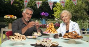 'Don't eat it, Mary': Paul Hollywood and Mary Berry on 'The Great British Bake-Off'. Photograph: Des Willie