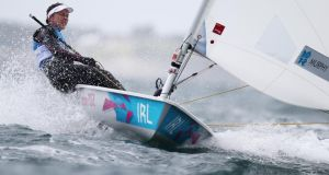 Ireland's Annalise Murphy tops the billing in the Laser Radial rig at the Royal Cork Yacht Club this week.