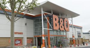 The B&Q store in Naas, Co Kildare:  a now 22-year-old was awarded almost €30,000 arising out of her treatment by a supervisor at the  store. Photograph: Brenda Fitzsimons