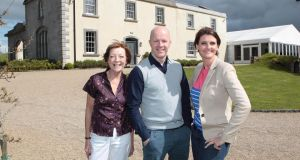 The Great Irish Bake Off judges Biddy White Lennon and Paul Kelly, and presenter Anna Nolan