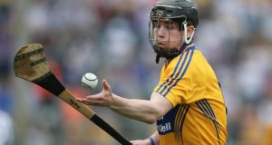 Tony Kelly: Clare's senior star, fresh from his herocis at Croke Park against Limerick, will be looking to help the Banner  book their place in another All-Ireland final, this time at U-21 level. Photograph: Lorraine O'Sullivan/Inpho