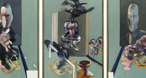 'Triptych, 1976' by Francis Bacon