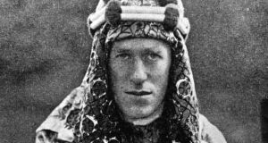 'Thomas Edward Lawrence, known as Lawrence of Arabia,  became somewhat fascinated with Ireland. His surviving letters contain references expressing a desire to visit his father's homeland. In one letter Lawrence even remarked that he would like to buy a few acres in Westmeath.' Photograph:  Hulton Archive/Getty Images