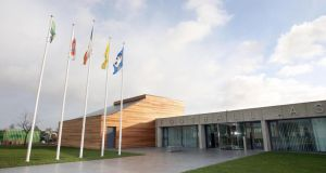 The FAI offices at the National Sports Campus, Abbotstown. The sporting body has written to Minsister Varadkar, providing him with information originally furnished to the Irish Sports Council.