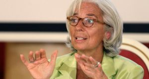 "International Monetary Fund managing director Christine Lagarde: ""Even with the best of efforts, the dam might leak."" Photograph: Reuters"