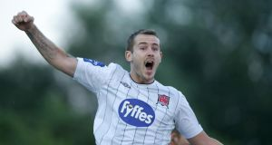 Kurtis Byrne scored twice for Dundalk against Limerick in the FAI Cup at Oriel Park.