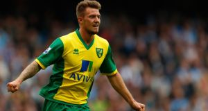Anthony Pilkington of Norwich is expected to be named in Ireland squad. Photograph: Paul Thomas/Getty Images