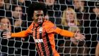 Chelsea have agreed terms to sign Brazilian forward Willian from Russian side Anzhi Makhachkala. Photograph: Nick Potts/PA Wire