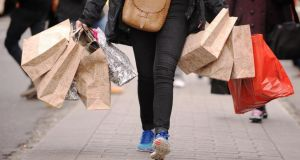 Irish retail sales figures for July will be released on Thursday. Photograph: Dominic Lipinski/PA