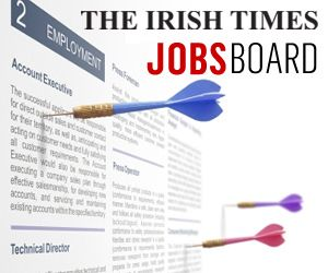 View executive jobs <br/>from Friday's Irish Times